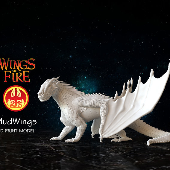 Dragon of Mud Tribe from Wings of Fire