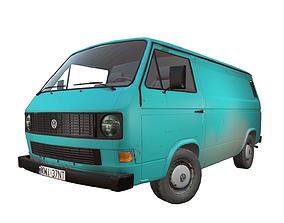 Volkswagen Transporter T3 3D model