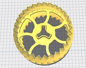 Tire for 8mm axes 3D printable model