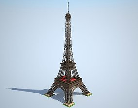 3D model Eiffel Tower High detailed