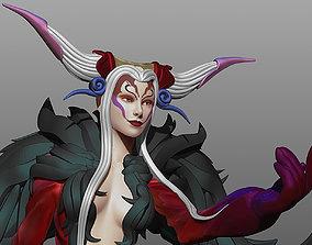 Final fantasy VIII Ultimecia girl 3D print model