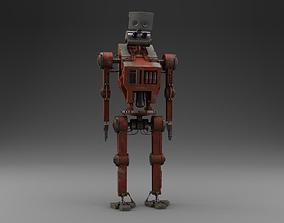Robot 3D model PBR