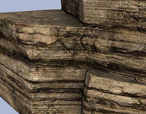 3D asset Schist stone blocks
