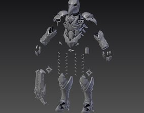 Nevermore Reaper Armor from Overwatch 3D printable model
