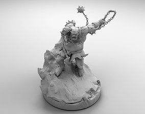 3D print model Ogre with a Mace