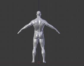 Human Man 3D lioness