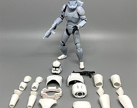 3D printable model Clone Commando 6 inch figure kit 1