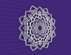 ornament decor Mandala 3D