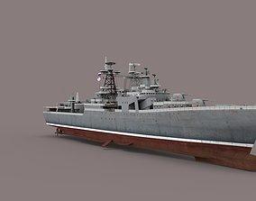 3D Udaloy-class Destroyer battleship