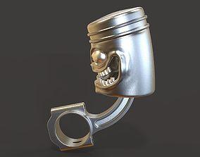 Piston 3D asset