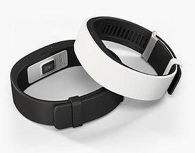 3D model Sony SmartBand 2 fitness activity tracker