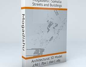 Mogadishu Streets and Buildings 3D
