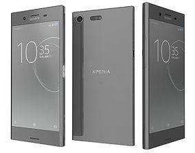 Sony Xperia XZ Premium Luminous Chrome 3D model
