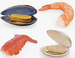 3D model The Seafood Collection