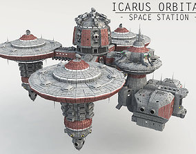 3D Icarus Orbital - Space Station