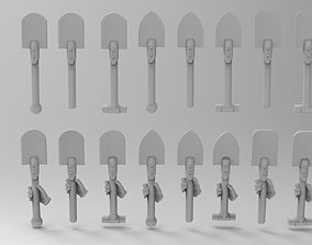 Guards Saper Shovel 3D printable model