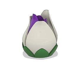 Lamp kit flower colors 3D print model