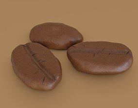 3D asset Coffee Bean PBR
