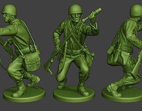 3D printable model American soldier ww2 M7 Grenade2 A10
