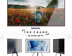 3D Samsung Frame 4K Ultra HD TV