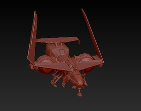 3D print model plane jet aircraft
