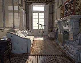 Neoclassical apartment 3D
