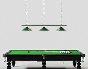 Billiards Table sports 3D model