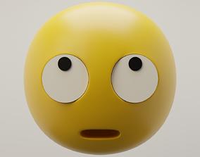 3D model Rolling Eyes Emoji