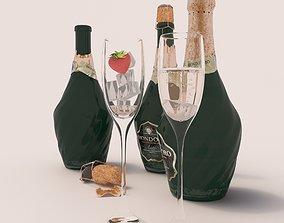 3D Champagne Mondoro