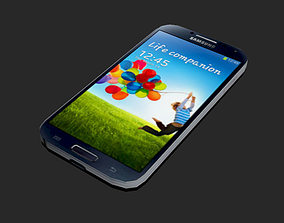 3D asset Samsung Galaxy S4 Low Poly