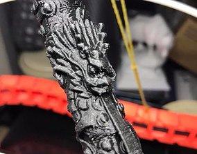 3D printable model Dragon Pillar By Claven