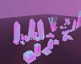 3D asset 21 Mineral DreamStyle