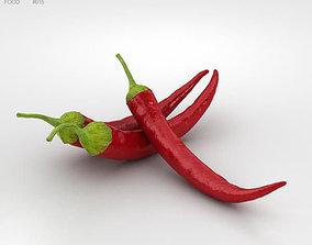 Chili Pepper 3D model