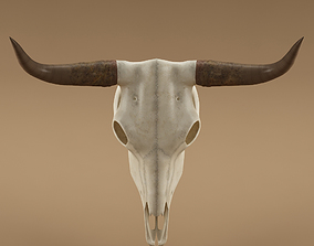 death Cow skull 3D model