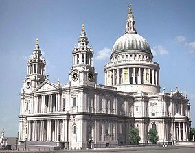 3D St Paul s Cathedral
