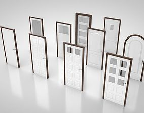 Door collection no1 3D asset