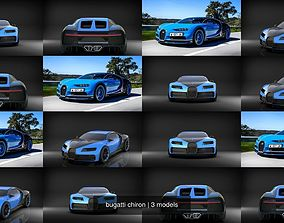 wheel bugatti chiron 3D model