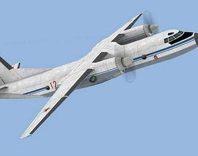 AN-26 3D asset