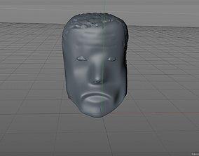 Terminator T800 Head 3D model