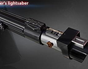Darth Vaders lightsaber 3D print model