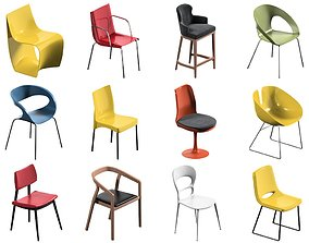 3D 12 Chair Pack Collection