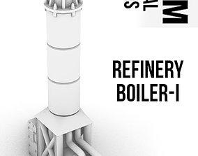 3D printable model Refinery Boiler I