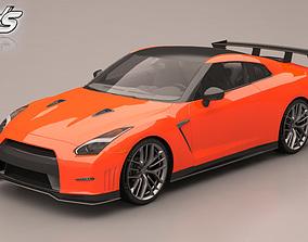 standard 3D model Nissan GT-R