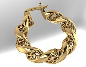 beauty 3D printable model Earring FASHION