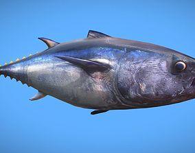 3D model Tuna Fish Low Poly