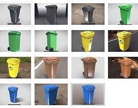 3D Plastic Waste Bin