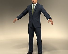 super-mario-character Suit Man 3D model