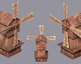 WindMill Textured 3D model