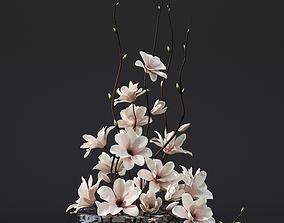 3D model Magnolia arrangement