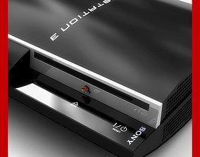 Playstation 3 PS3 3D model